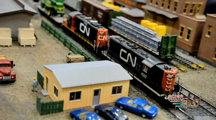 GREAT EDMONTON MODEL TRAIN SHOW 2014