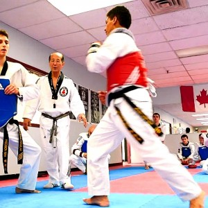 CANADIAN TAEKWONDO ICON VISITS TO EDMONTON