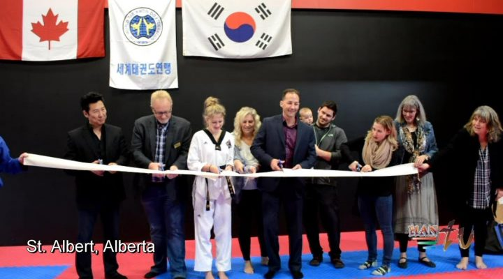 First Olympic World Taekwondo Dojang Opened in St Albert