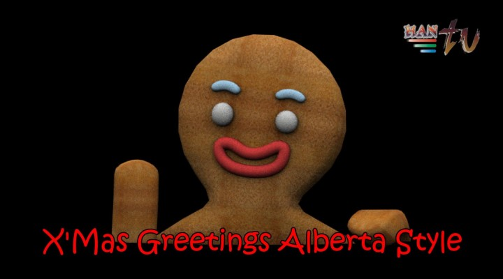 CHRISTMAS GREETINGS ALBERTA STYLE – EDMONTON