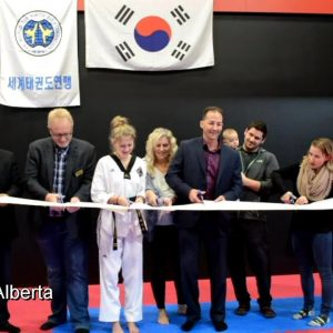 First Olympic World Taekwondo Dojang Opened in St Albert